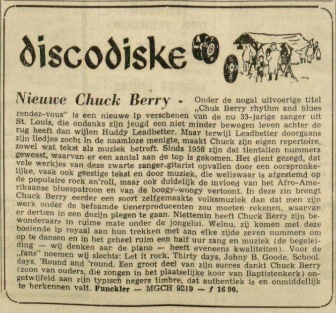 Uit de Leeuwarder Courant van 22 oktober 1964