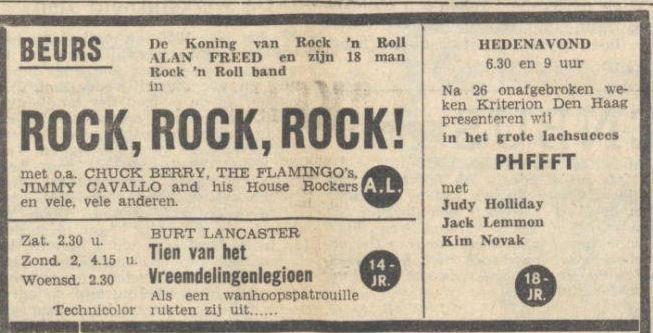 Uit het Nieuwsblad van het Noorden van 3 januari 1957