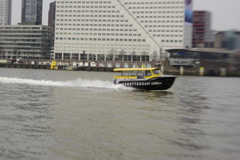 De watertaxi SS Rotterdam (Foto: Disbatch)