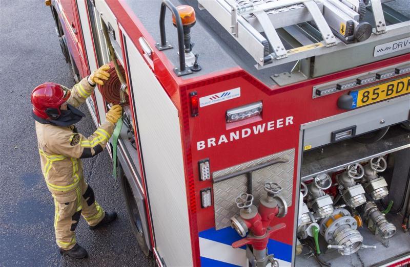 Woningen ontruimd vanwege brand in Delft