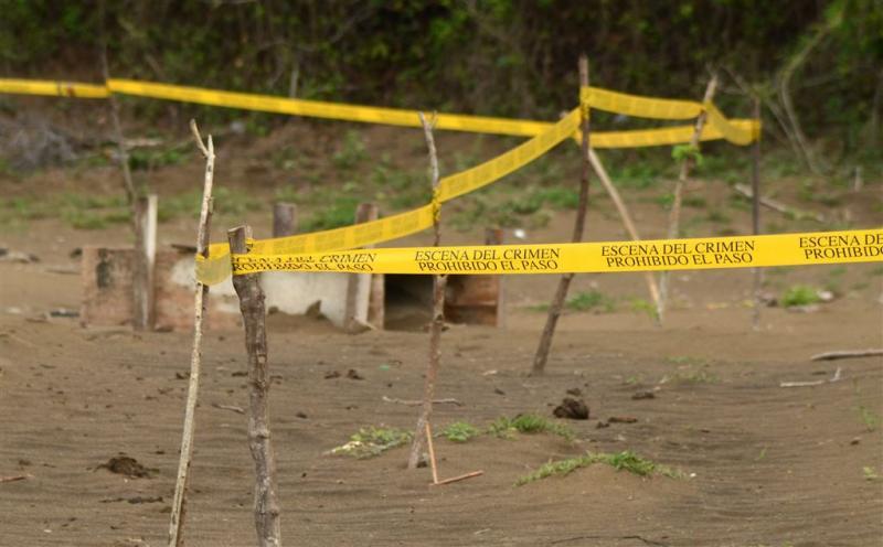 Tientallen schedels gevonden in graven Mexico
