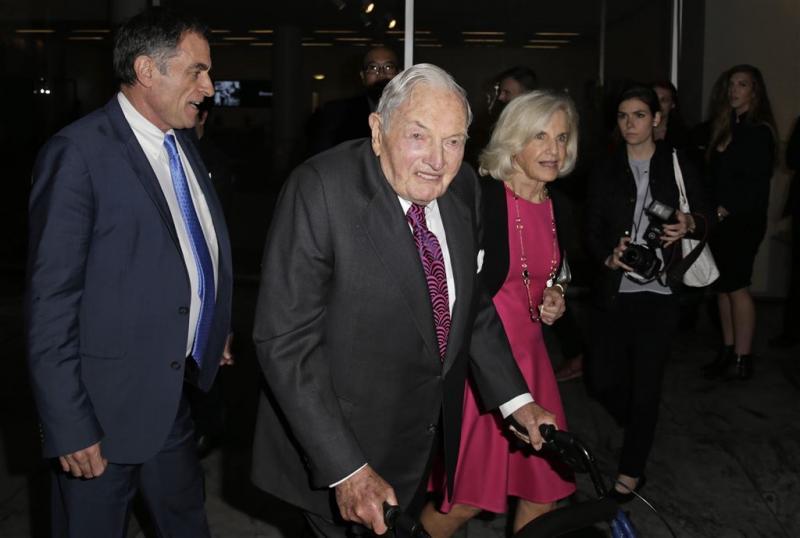 Bankier en filantroop Rockefeller overleden