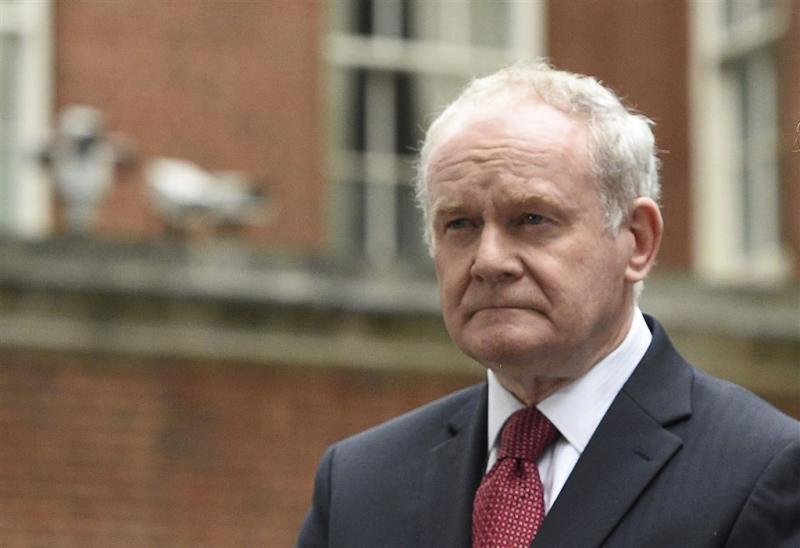 Sinn Féin-leider Martin McGuinness overleden