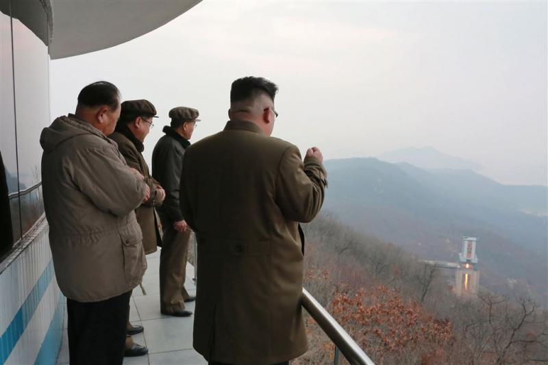 'Raket Noord-Korea ontploft vlak na lancering'