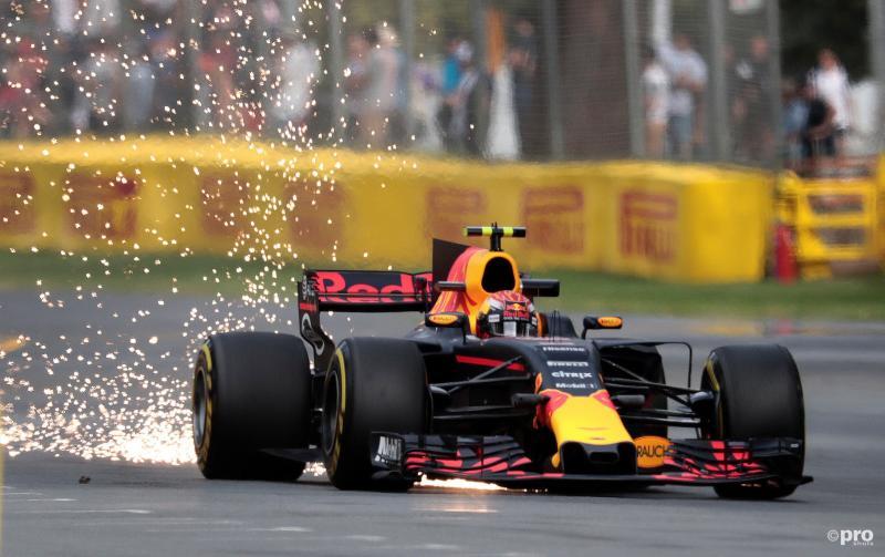 Max Verstappen tijdens de vrije training in Melbourne (PRO SHOTS/Action Images)