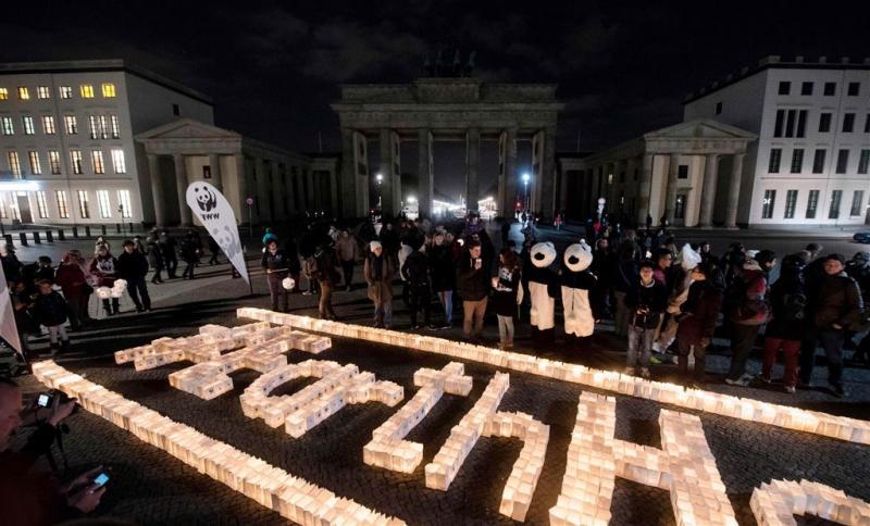 Overal een uur het licht uit voor Earth Hour