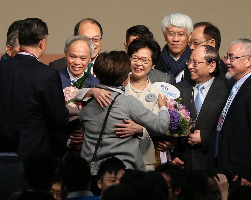Carrie Lam nieuwe leider van Hong Kong