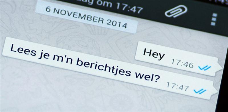'Toegang tot WhatsAppberichten voor politie'