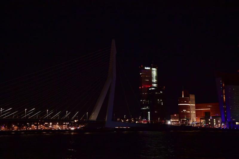 Nederland in het donker voor Earth Hour