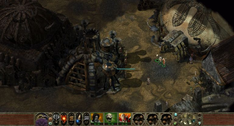 Planescape 2.0 - gameplay