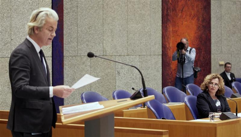 Wilders: Rutte verloochent achterban