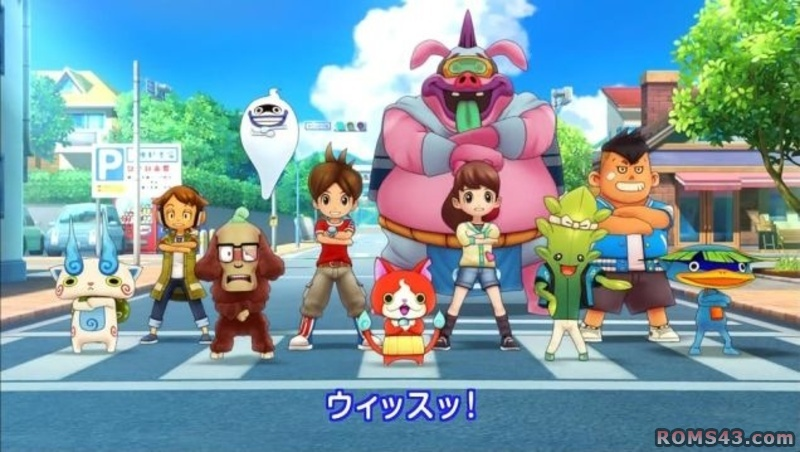 Yo-Kai Watch 2 cinematic