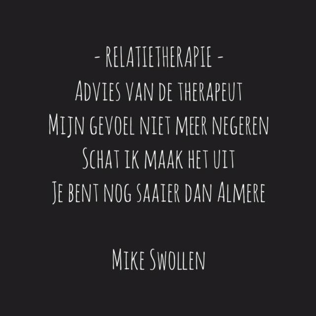 Swollinski gedicht Relatietherapie