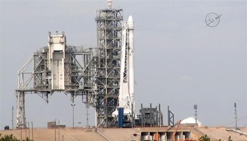 Eerste lancering van tweedehands raket