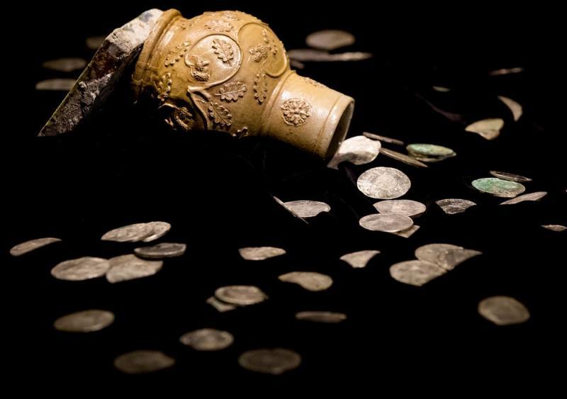 Archeologen vinden zilverschat