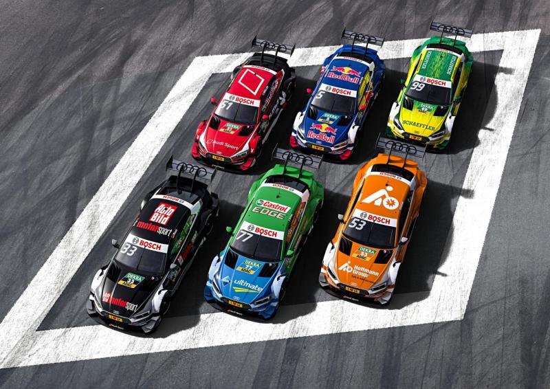 2017 Audi DTM overzicht (Foto: Audi MediaCenter)