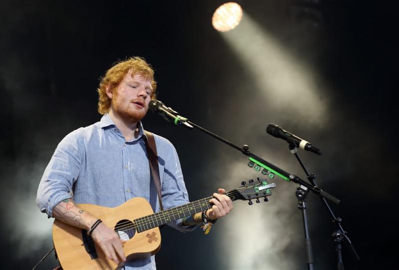 Ed Sheeran loopt weer in op Boef