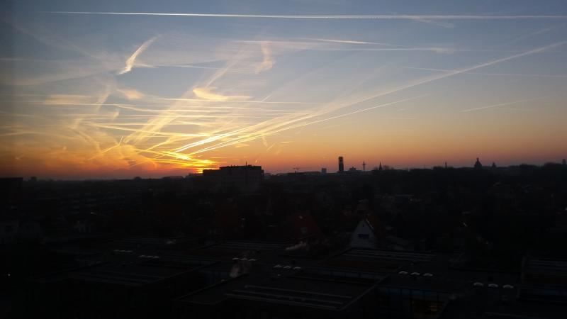 Mooi luchtje in Vlissingen (Foto: Afstandsbediening)