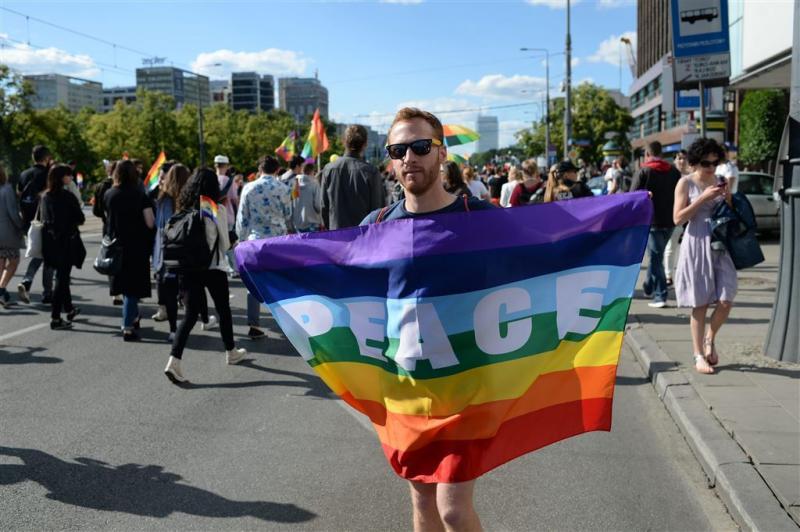 Demonstratie in Arnhem tegen homogeweld