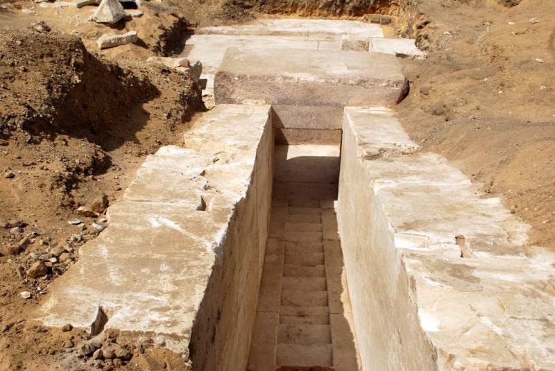 Resten van 4000 jaar oude piramide ontdekt