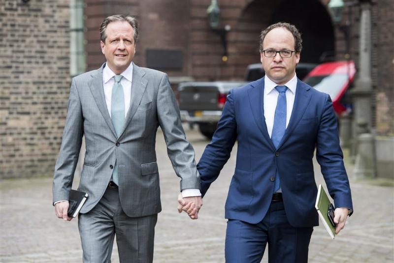 D66-kopstukken hand in hand naar formatie