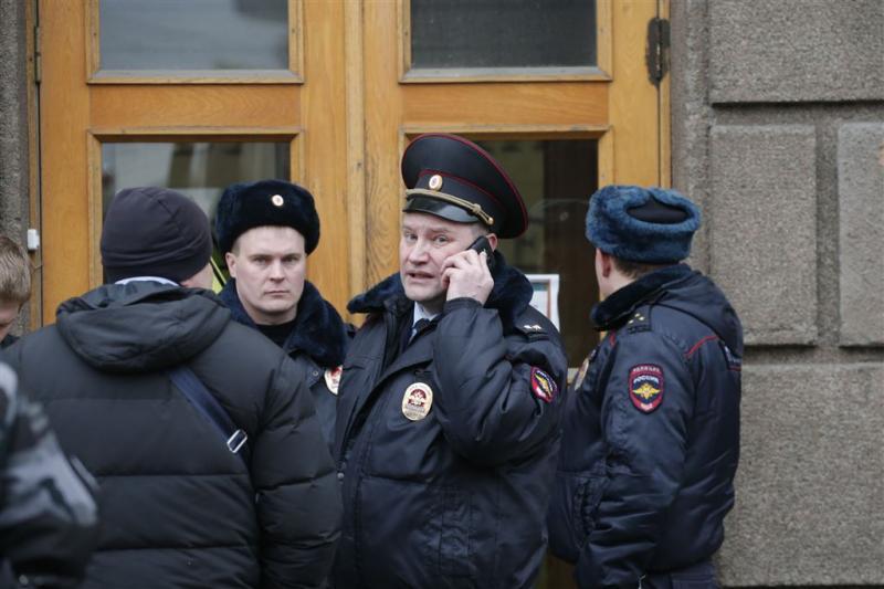 Terreurverdachten opgepakt in St. Petersburg