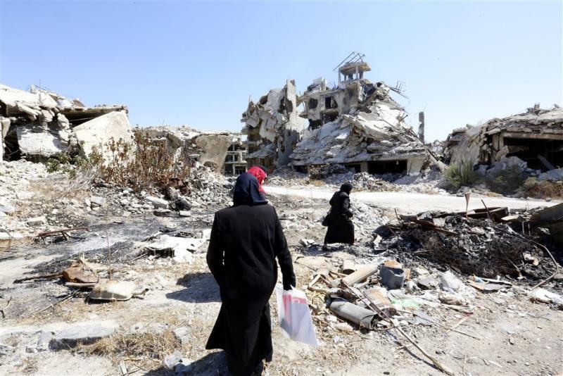 Nieuwe luchtaanval op Khan Sheikhoun gemeld