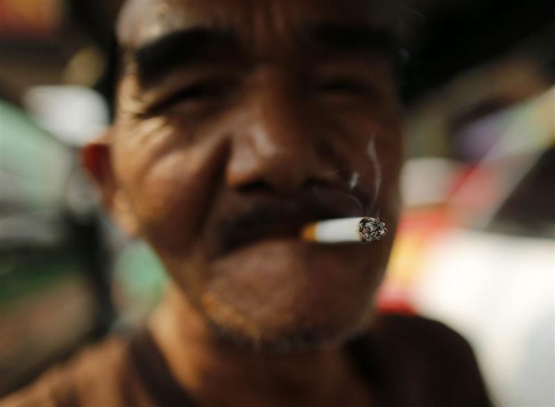 'Aantal rokers wereldwijd daalt'
