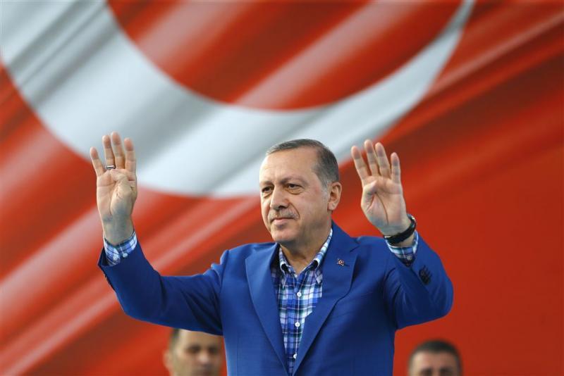 Erdogan: aanval VS op Syrië was niet genoeg