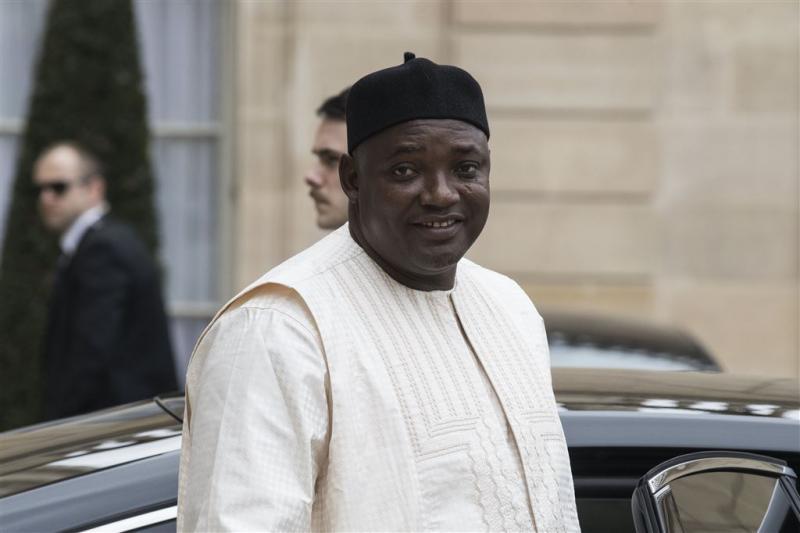 Partij president Gambia wint verkiezingen