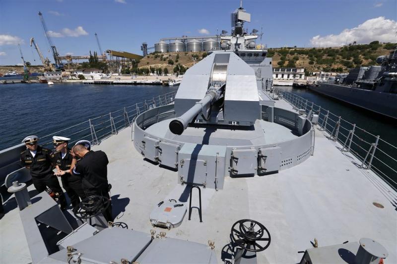 Rusland stuurt fregat naar Middellandse zee