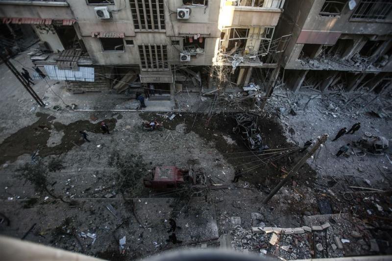 'Burgerdoden door bombardement Syrië'
