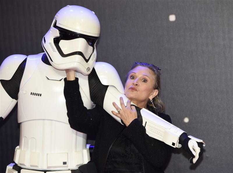 'Carrie Fisher zit in Star Wars 9'