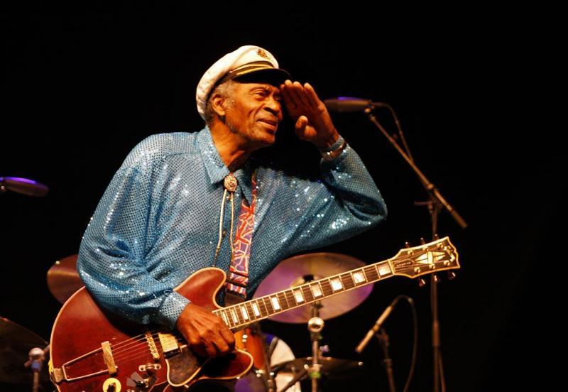 Fans nemen afscheid van Chuck Berry