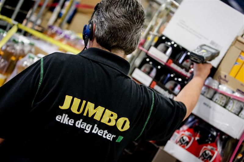 Meer loon bij distributiecentra Jumbo