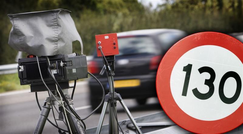 Vaker boetes voor kleine snelheidsovertreding