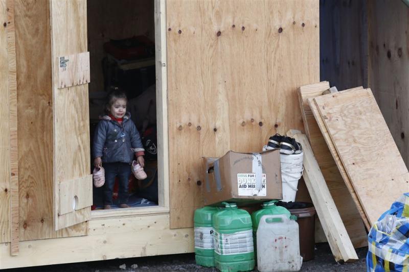 Frans vluchtelingenkamp afgebrand na rellen