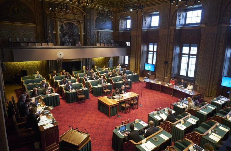 Senaat stemt over uitstel Oekraïneverdrag