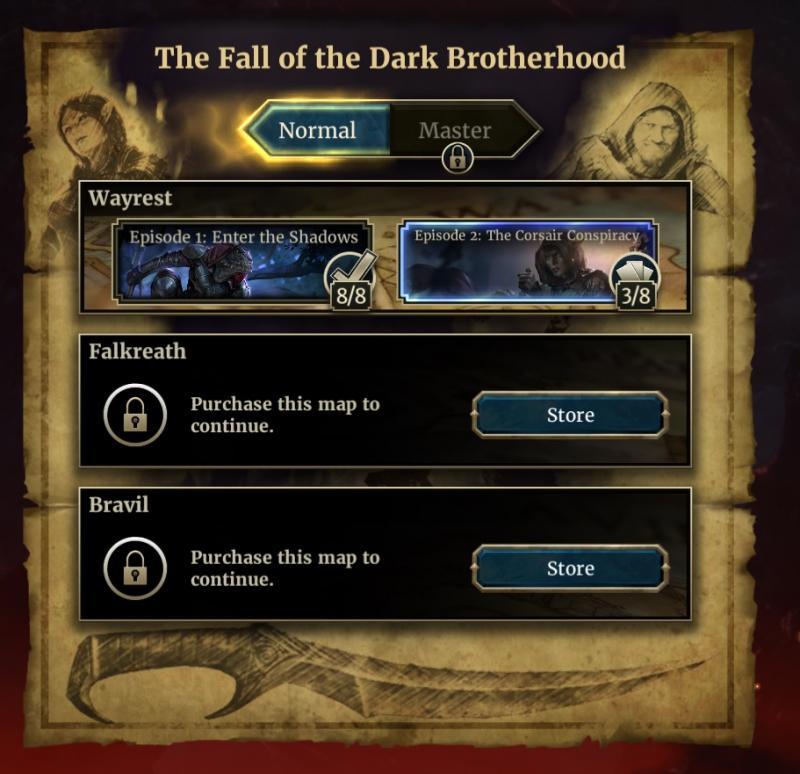 Elder Scrolls Legends - Uitbreiding