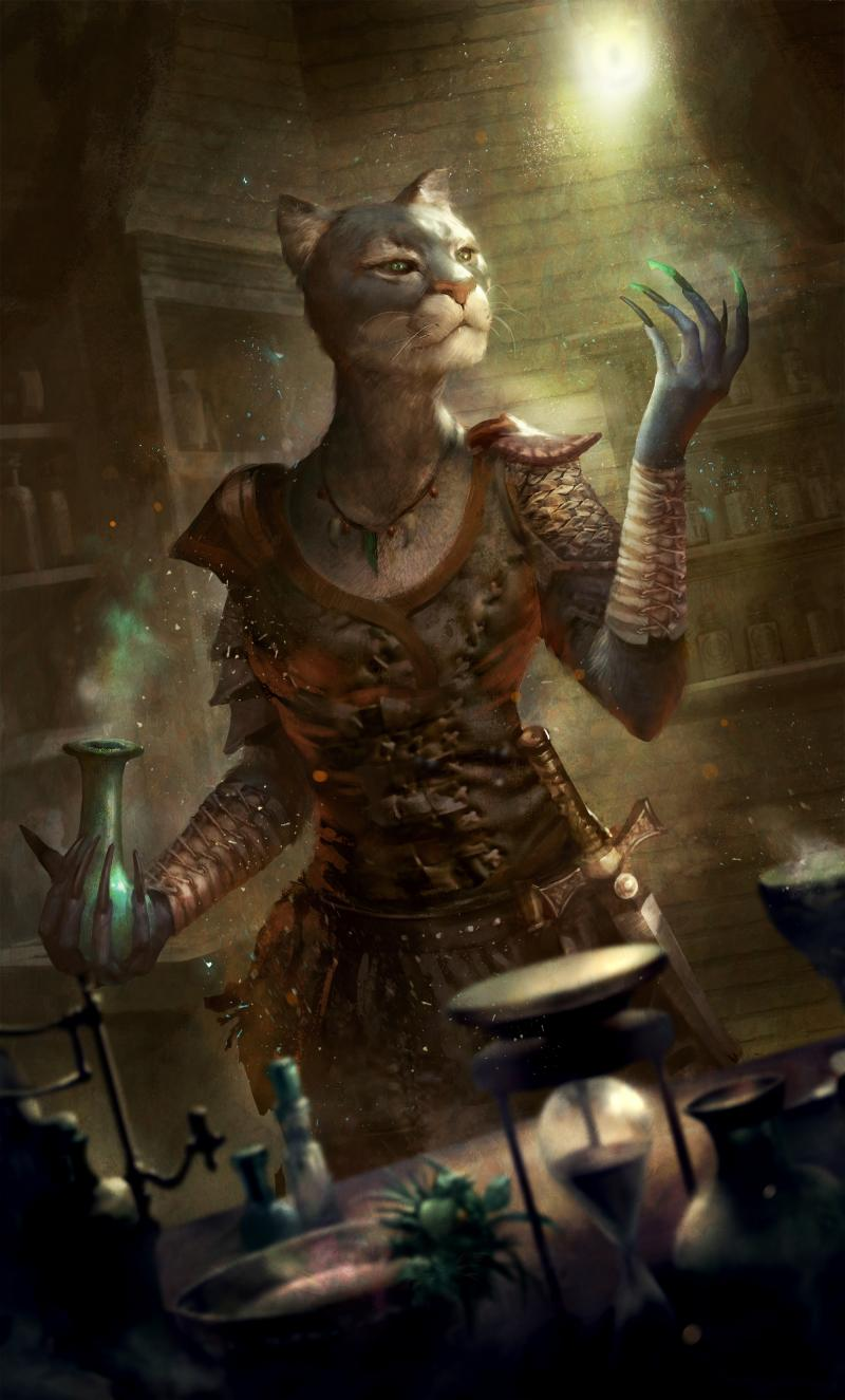 Elder Scrolls: Legends - Kattig