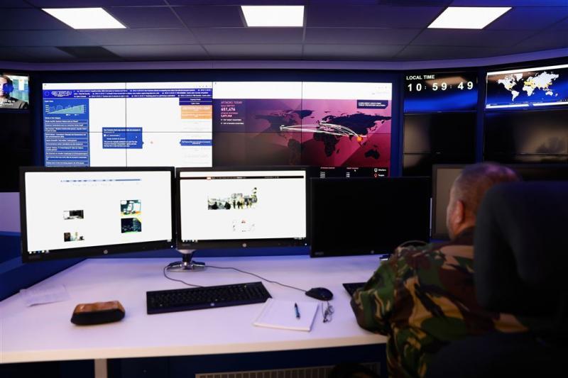 Cyber Commando voor het eerst op missie