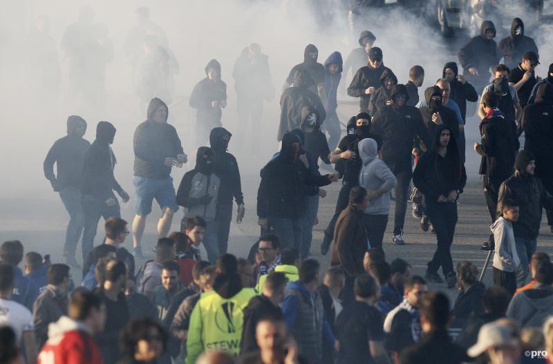 Lyon - Besiktas opgeschrikt door hevige rellen (Pro Shots / Action Images)