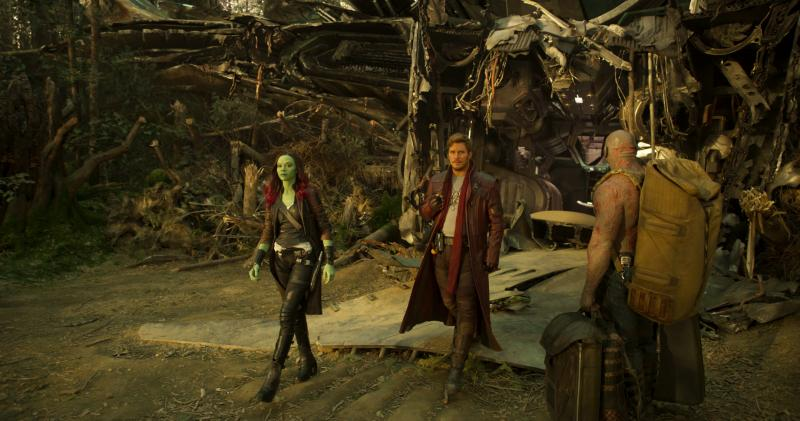Guardians of the Galaxy Vol. 2: Gamora, Star-Lord, Drax