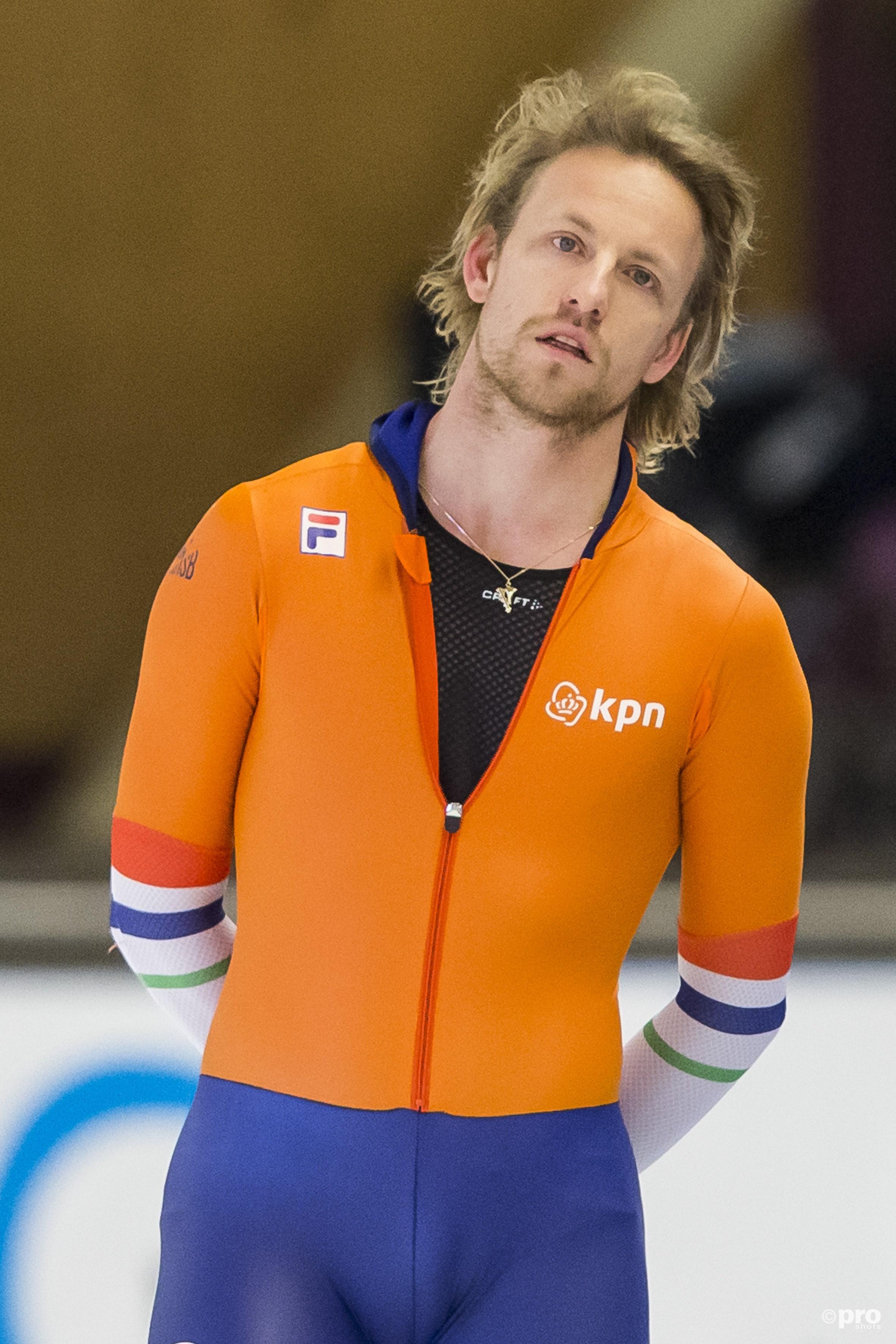 Michel Mulder eerder dit jaar tijdens wedstrijden in Berlijn. (PRO SHOTS/Erik Pasman)