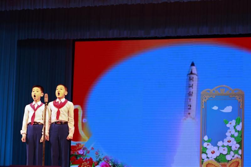 Hoogspanning op feestdag Noord-Korea