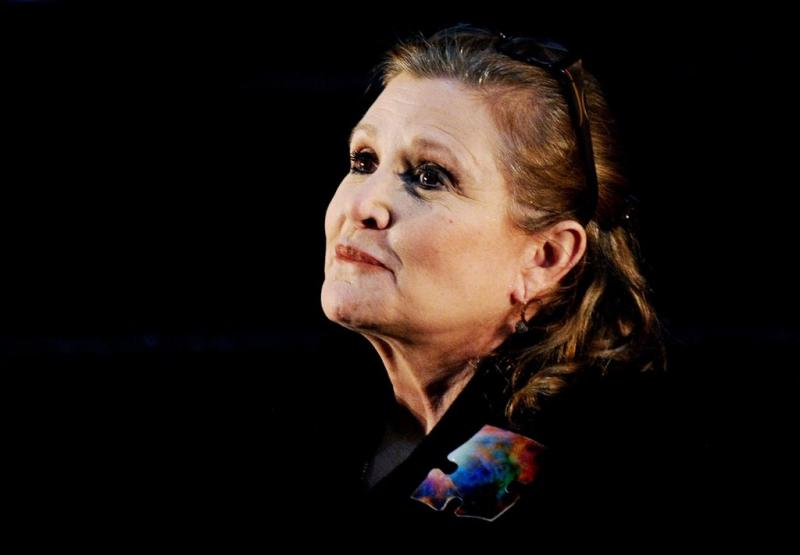 Carrie Fisher niet in negende Star Wars-film