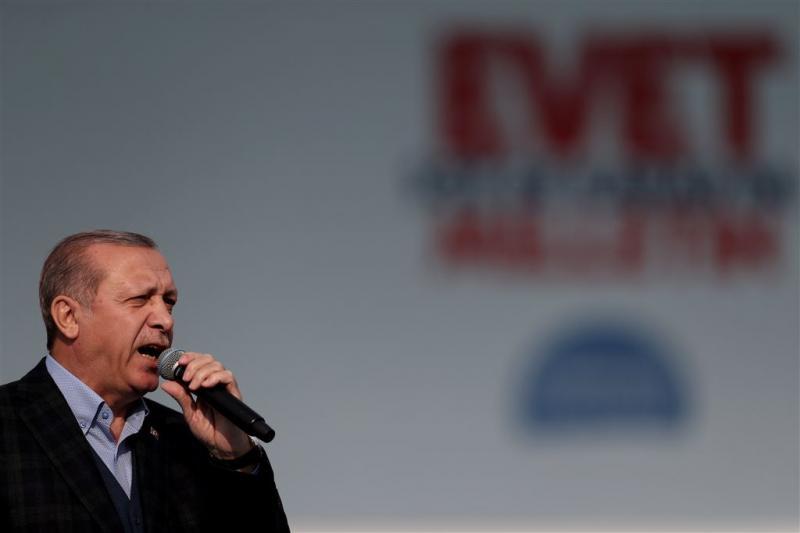 Erdogan: weg vrij naar doodstraf bij winst