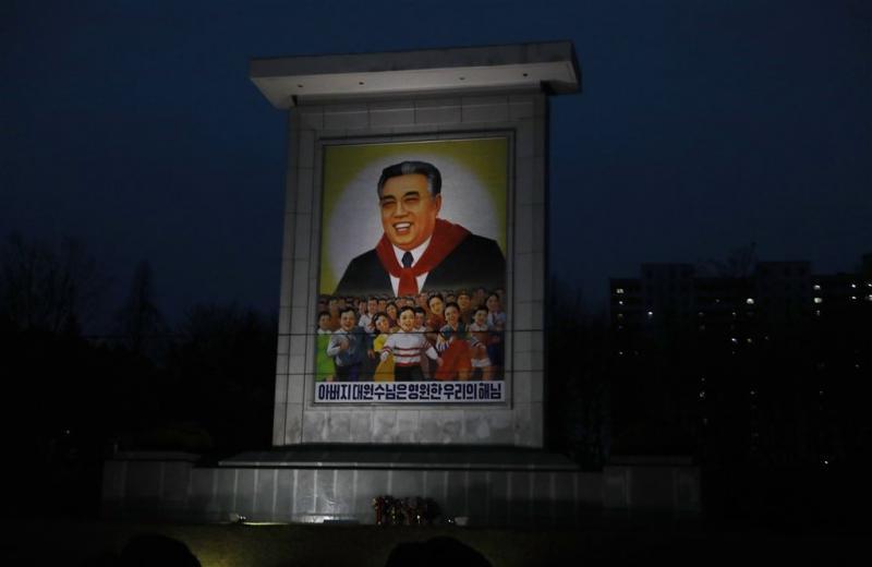 Feestdag Noord-Korea van start met parade