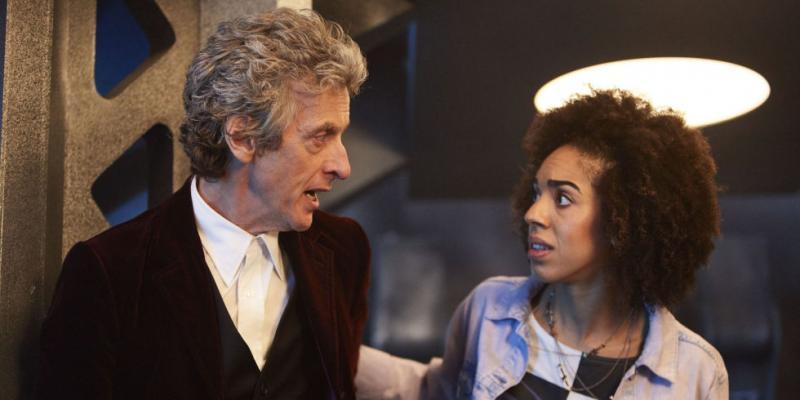 Doctor Who: Peter Capaldi en Pearl Mackie