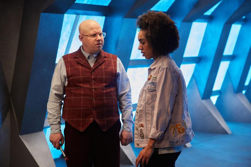 Doctor Who: Matt Lucas en Pearl Mackie